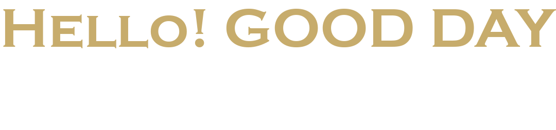 Hello! GOOD DAY 「P's SQUARE」で始める。新しい「熱」「発信」「機会」。