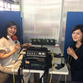 FM沖縄ラジオカー収録終わり